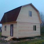 Новый брусовый дом Брусовая дача