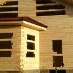 Дом из проф. бруса 140х190мм