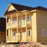 Построили дом каркасный 40х150мм, снаружи OSB